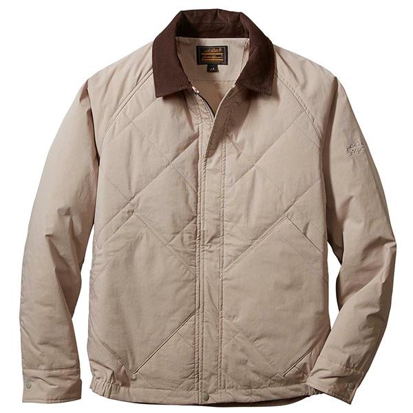 エディー・バウアー 長袖キルテッドフルジップシャツジャケット 400552