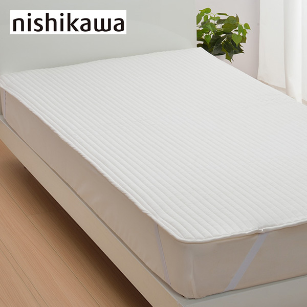 制菌加工 ベッドパッド シングル