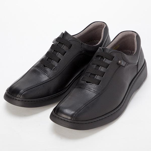 【産経限定】 金谷製靴 カネカ 楽らくゴム紐の柔らか牛革シューズ GOLF0235
