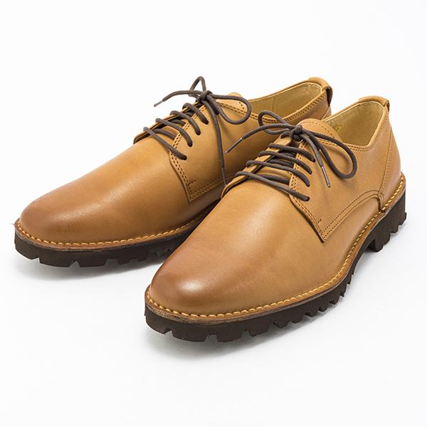 金谷製靴 カネカ 日本製 ソフト牛革軽量ウォーキングシューズ プレーン 4003