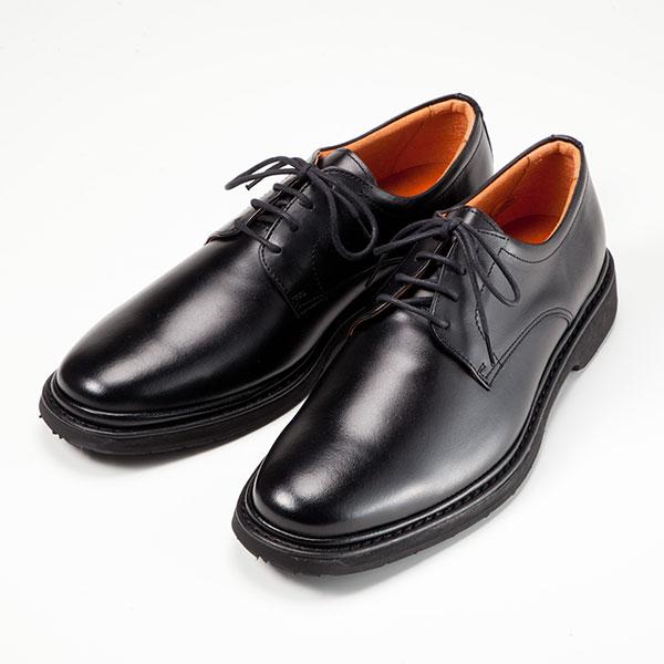 金谷製靴 カネカ 日本製 牛革ビジネスシューズ プレーンヒモ 1303