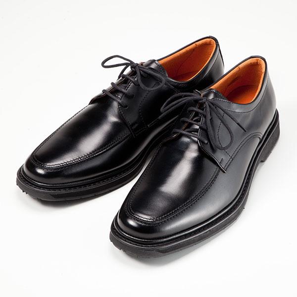 金谷製靴 カネカ 日本製 牛革ビジネスシューズ Uモカヒモ 1313