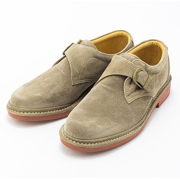 金谷製靴 カネカ 日本製 ピッグスキン ウォーキングシューズ ベルト 3822