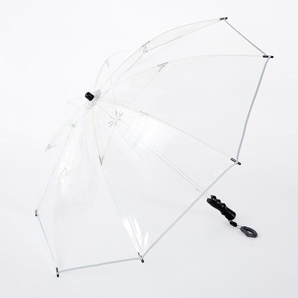 ホワイトローズ カテール ピッコロ ビニール傘 手開き長傘
