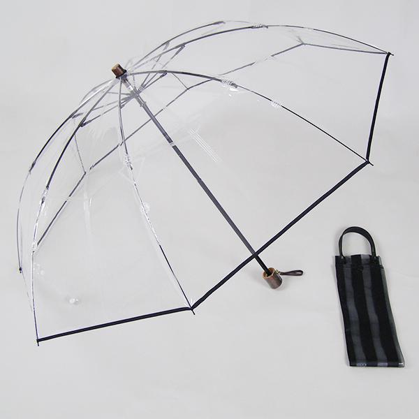 ホワイトローズ アメマチ 折りたたみビニール傘