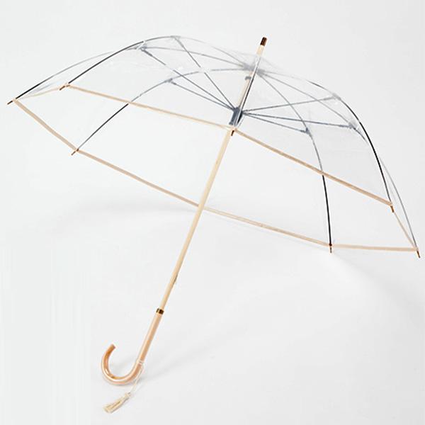 ホワイトローズ 縁結 雅 ビニール傘 長傘
