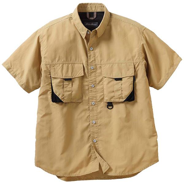 エディー・バウアー 半袖ナイロンフィールドシャツ 400957