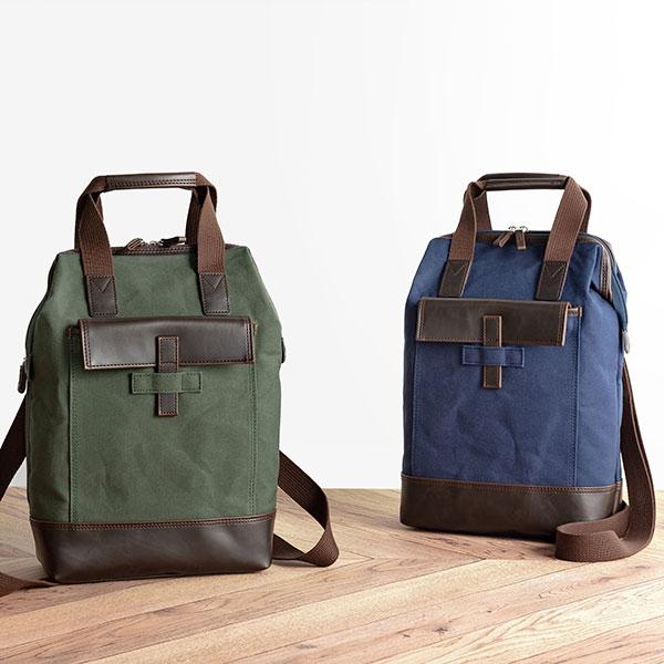 【産経限定】 平野鞄 鞄の國 豊岡製 帆布3WAYダレスバッグ 72363