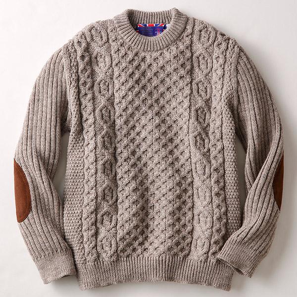 グレンフィールド ジェイエムクーパー 英国製フィッシャーマンズセーター