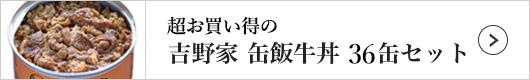吉野家 缶飯牛丼 1セット(36缶)